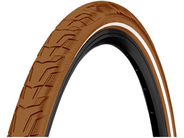 "Continental Ride City Wired Tyre 28x1.40"" Reflex E-25, brown"